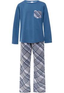 Pijama Longo Juvenil Menino Família Coala Luna Cuore