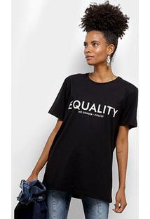 Camiseta Colcci Equality Feminina - Feminino