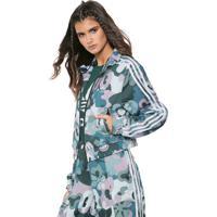 f39648631c Dafiti Sports. Jaqueta Cropped Adidas Originals Contemp Bb Tt Verde