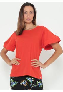 Camiseta Lisa- Laranja- Colccicolcci
