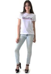 Camiseta Opera Rock Feminina - Feminino