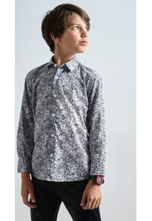 Camisa Mini Pf Liberty Luna Reserva Mini Branco - Kanui