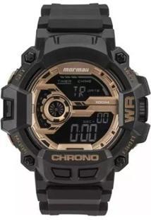 Relógio Masculino Mormaii Digital Mo1105B/8J - Unissex-Preto