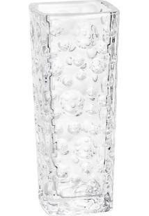 Vaso Bubble Bud- Cristal- 15,6Cm- Rojemacrojemac