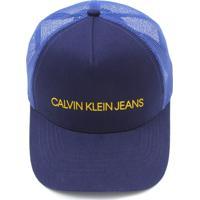 Bonés Masculinos Azul Calvin Klein  cb4572cedb7