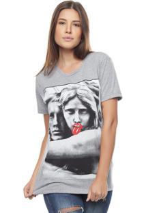 Camiseta Bossa Brasil Estatua Mescla - Kanui