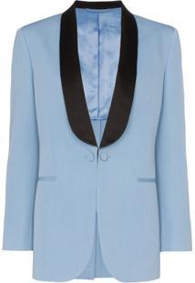 Calvin Klein 205W39Nyc Jaqueta De Lã - Azul