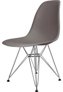Cadeira Eames Eiffel Pp Cinza Base Cromada - 44173 - Sun House
