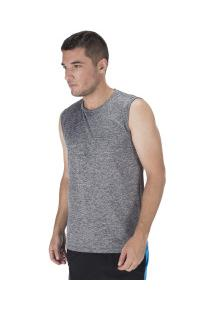 Camiseta Regata Oxer Básica Mescla - Masculina - Mescla