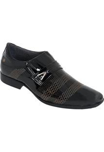 Sapato Pegada Preta Amortech