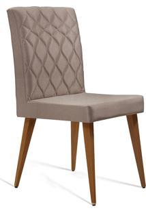 Cadeira Julia T1073-Daf Mobiliário - Bege