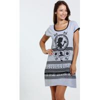 363db5e83 Camisola Feminina Estampa Branca De Neve Disney