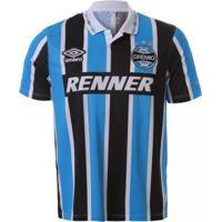 Camiseta Grêmio Umbro Tricolor Bi Libertadores 1995 55e73df5bfd30