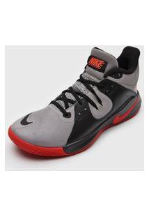 Tênis Nike Fly.By Mid Preto/Laranja