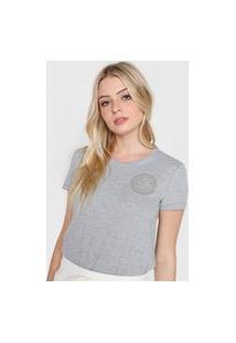 Camiseta Calvin Klein Underwear Logo Cinza