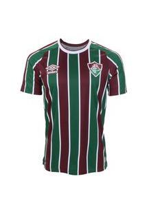 Camisa Umbro Fluminense Oficial I 2021 Masculina
