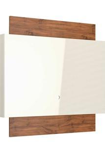 Painel Para Tv 55 Polegadas Lautrec I Off White E Nobre