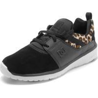 7b289f4ca Dafiti Sports. Tênis Couro Dc Shoes Heathrow Se ...