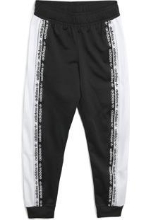 Calça Adidas Originals Menino Lisa Preta