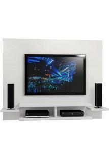 Painel Para Tv Vitoria Branco - Mavaular Móveis