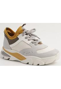 Tênis Feminino Sneaker Bicolor Dakota