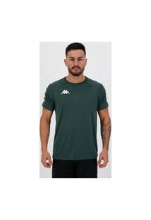 Camisa Kappa Sports Verde Escuro