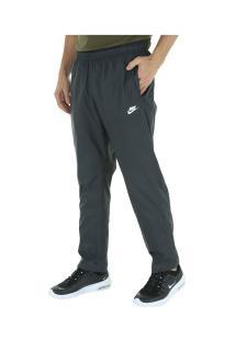 Calça Nike Oh Woven Core Track - Masculina - Cinza Escuro