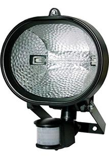 Refletor Holofote Halógeno E Com Sensor De Presença - Dni 6016