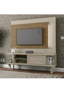 Estante Para Home Theater E Tv Até 46 Polegadas Luminos Demolição E Off White