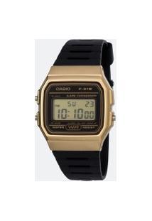 Relógio Unissex Casio F 91Wm 9Adf Digital | Casio | Preto | U