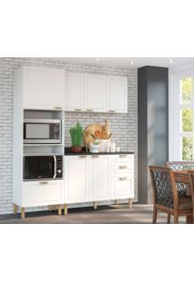 Cozinha Compacta Nevada Iv 6 Pt 4 Gv Branca
