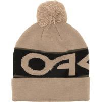Gorro Oakley Factory Cuff Beanie Bege 04df75f81e4