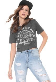 Camiseta Cavalera Mullet New Wave Grafite