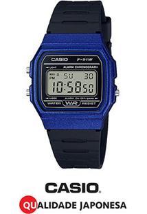Relógio Casio Digital F-91Wm-2Adf - Unissex