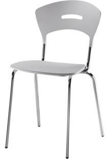 Cadeira Em Polipropileno Branco 12280 - Sun House
