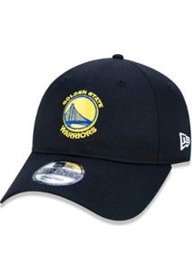Boné 920 Golden State Warriors Nba Aba Curva Strapback New Era -  Masculino-Preto 629d03ffd31