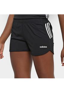 Bermuda Adidas Design 2 Move 3 Stripes Feminina - Feminino