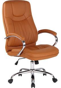 Cadeira Para Escritório Office Lyon-Rivatti - Caramelo