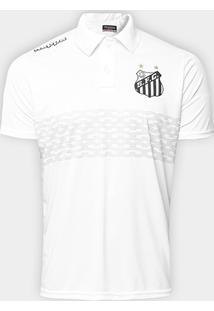 fc61b40f6b015 Netshoes. Camisa Polo Santos Geraldino 17 Masculina ...