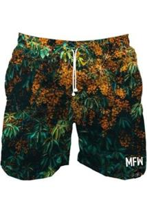 Bermuda Maromba Fight Wear Jungle Com Bolsos Masculina - Masculino-Verde