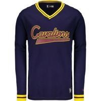 b66205dfd Camiseta New Era Nba Cleveland Cavaliers Manga Longa - Masculino