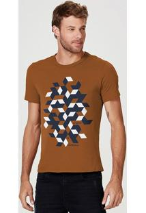Camiseta Masculina Regular Com Estampa