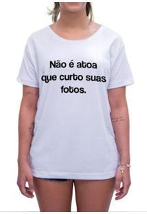 Camiseta Impermanence Estampada Curto E Comento Feminina - Feminino