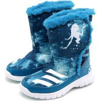 Dafiti. Tênis Adidas Disney Frozen Mid Azul df1698406b177