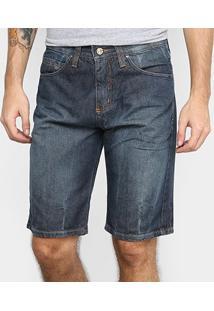 Bermuda Jeans Hd 9000 Masculina - Masculino-Azul