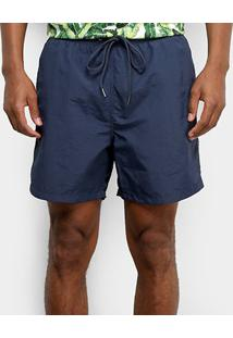 Bermuda Colcci Cordão Masculina - Masculino-Azul Escuro