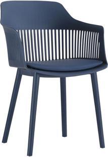 Cadeira Marcela Azul Marinho