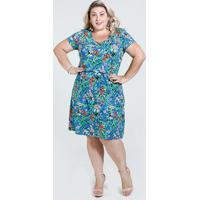 6c6bf80e78 Marisa. Vestido Feminino Estampa Floral Plus Size Marisa