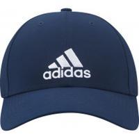 Boné Aba Curva Adidas Essential 3S Lightweight Eb - Strapback - Adulto -  Azul Esc  d4b73ce418cde