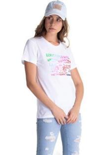 Camiseta Levis Logo Horse Feminina - Feminino-Branco